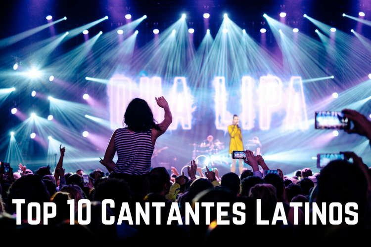Top 10 Cantantes Latinos