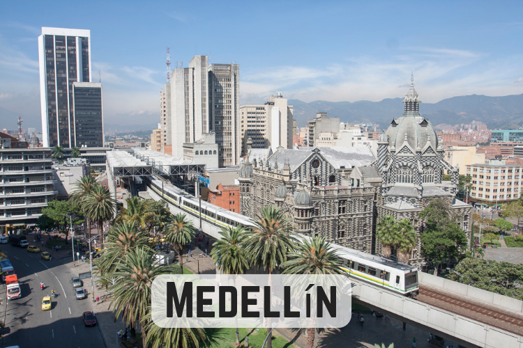 Podcast about Medellin